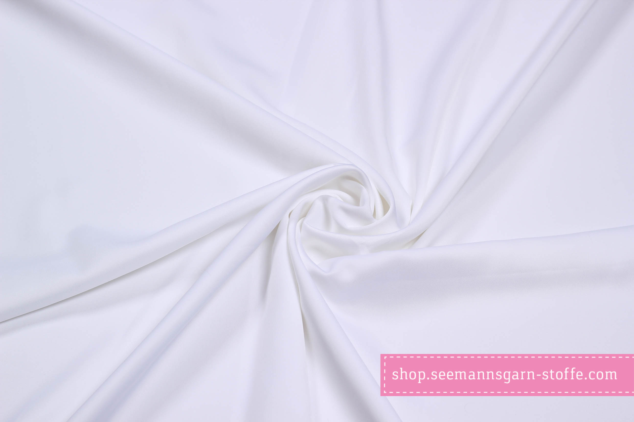 Royal Micro Satin - Uni Weiß