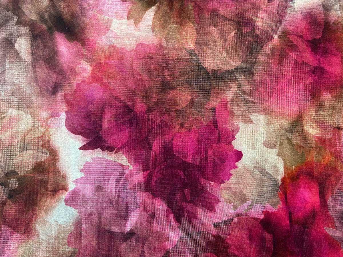 Viskose Jersey - Pink Flow - Hilco