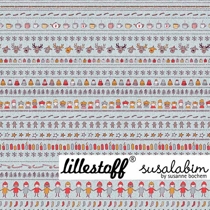 Sommersweat Susalabims Weihnachtspulli von lillestoff