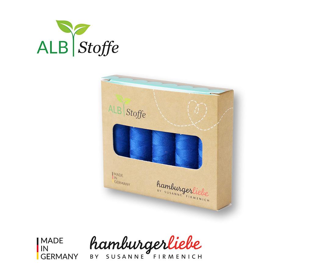 Nähgarn-Set Stitch Me bluette 5er Set von Hamburger Liebe & Albstoffe