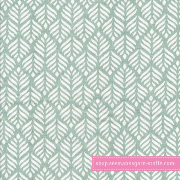 Wachstuch - Oilcloth Trigo Mint