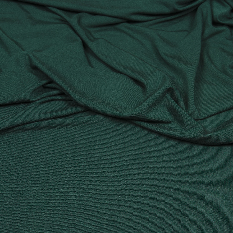 Viskose Jersey - Vi-El-Jersey in dunkelgrün von Hilco