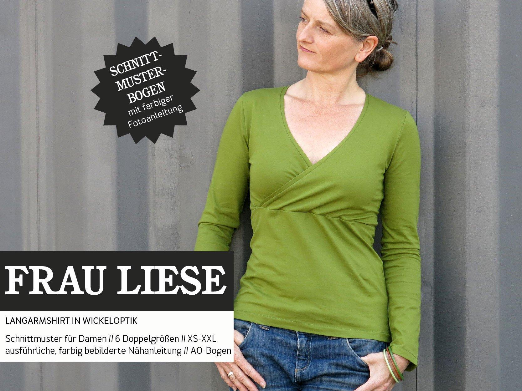 STUDIO SCHNITTREIF Frau Liese Shirt - Papierschnittmuster