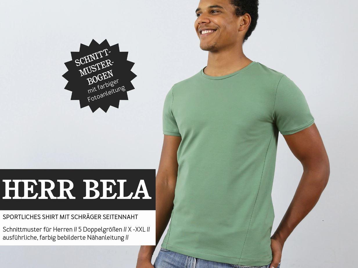 STUDIO SCHNITTREIF Herr Bela Shirt Papierschnittmuster