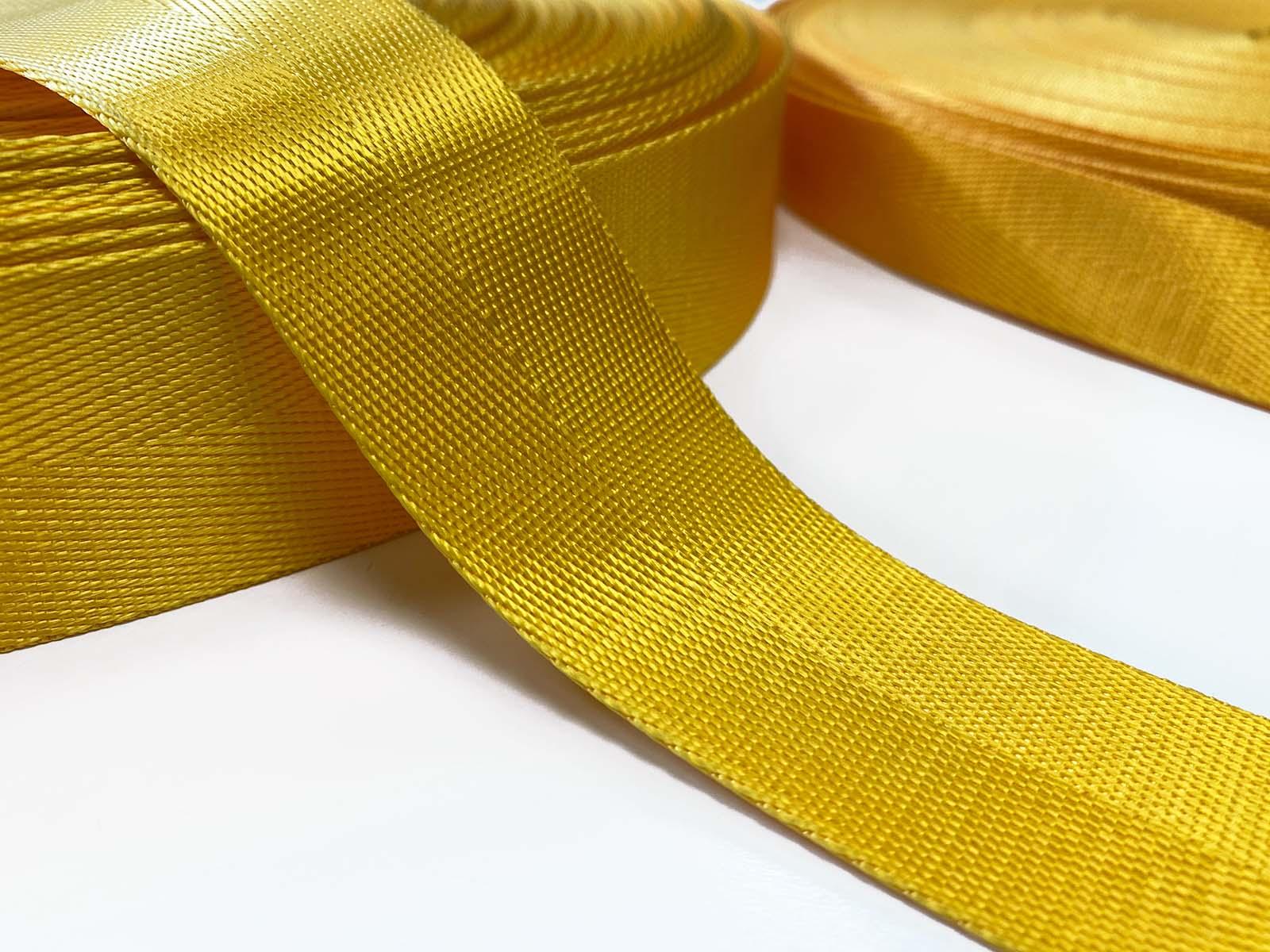 Nylon Gurtband gelb