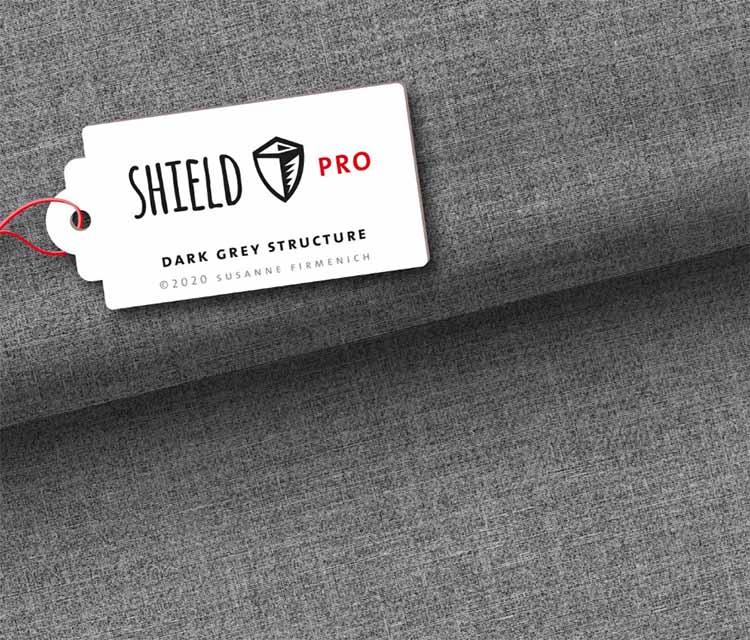 Shield Pro Jersey dark grey von Hamburger Liebe und Albstoffe