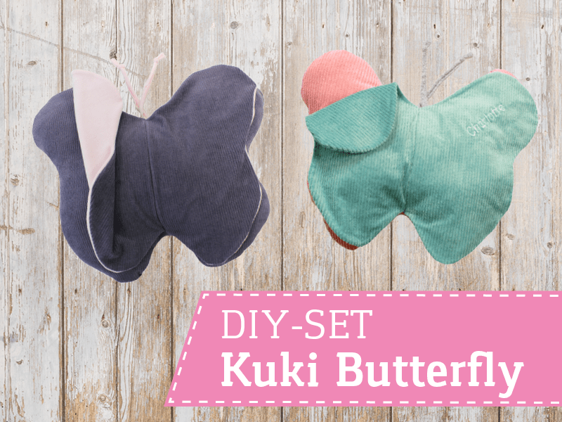 DIY Set Kuki Butterfly zum Nähen | SEEMANNSgarn