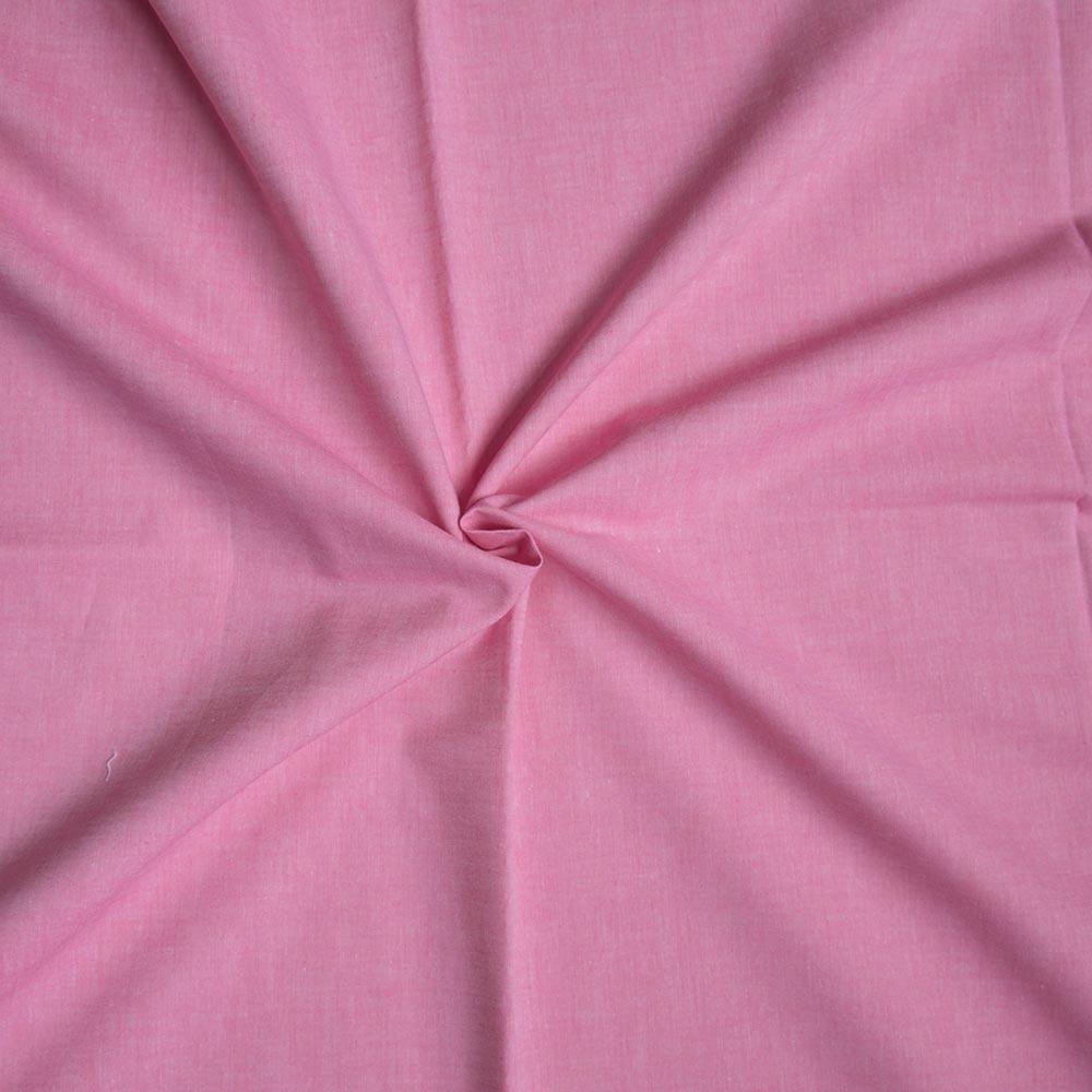 Webware Baumwolle - Ida Uni in pink von Hilco