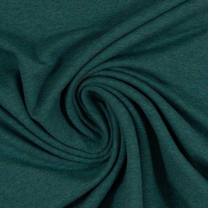 Melierter Jersey in dunkelgrün von Swafing!