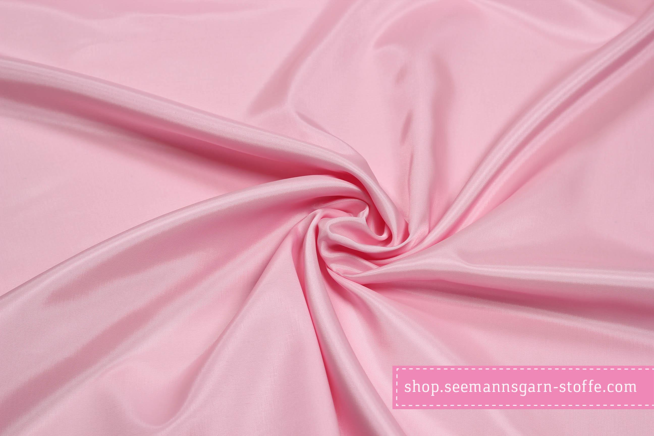 Futterstoff Finesse - Uni Rosa