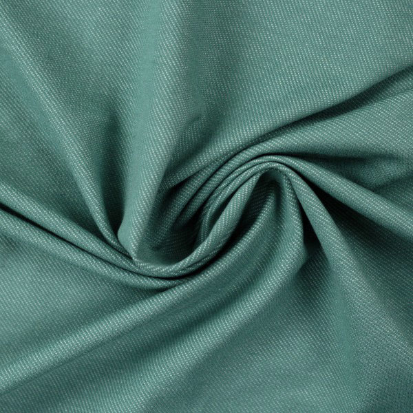 "Jersey ""Austin"" in Jeansoptik - smaragdgrün - Swafing"
