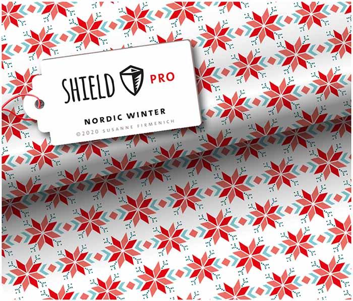 Shield Pro antimikrobieller Jersey Nordic Winter von Hamburger Liebe und Albstoffe