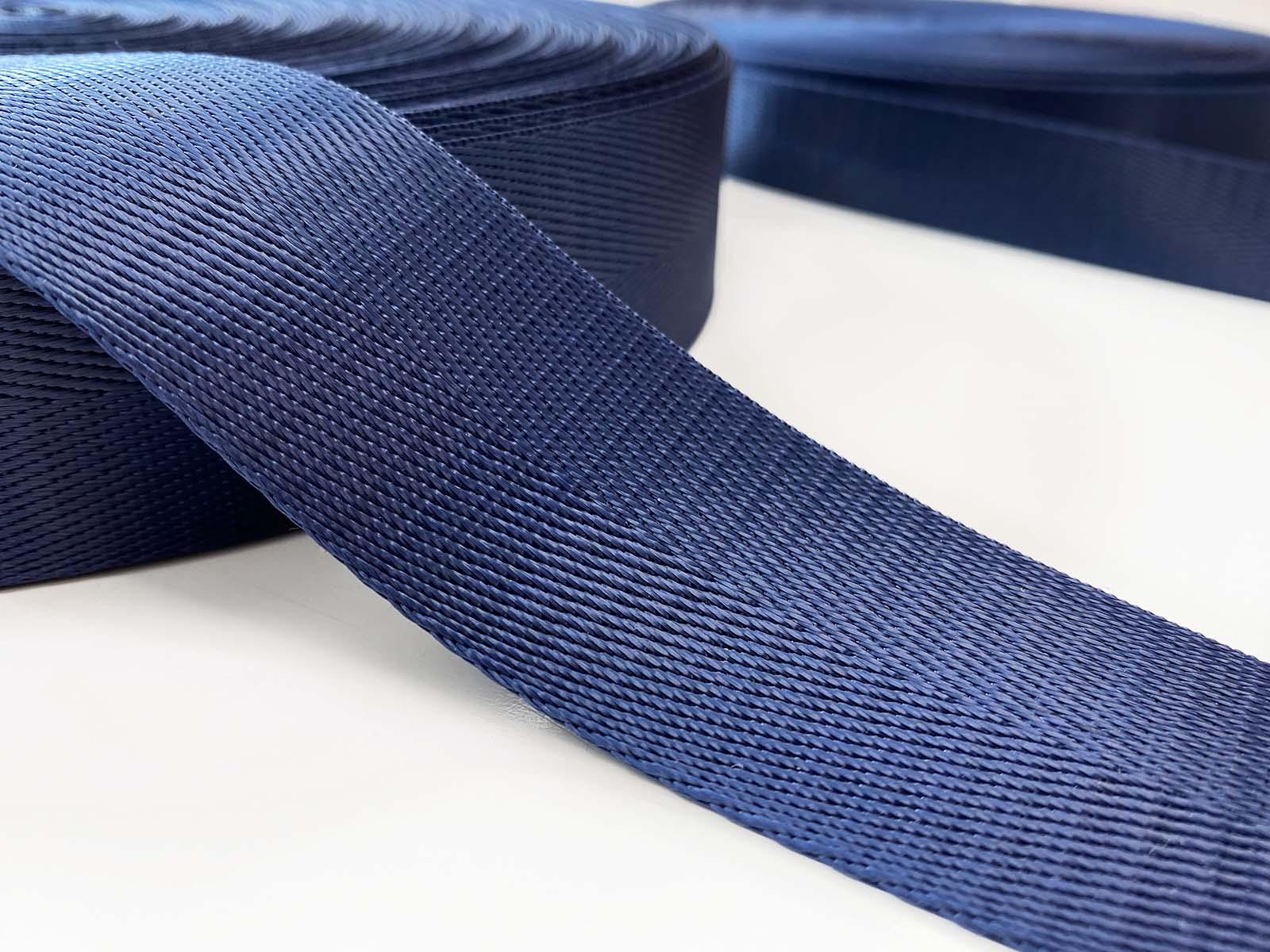 Nylon Gurtband dunkelblau
