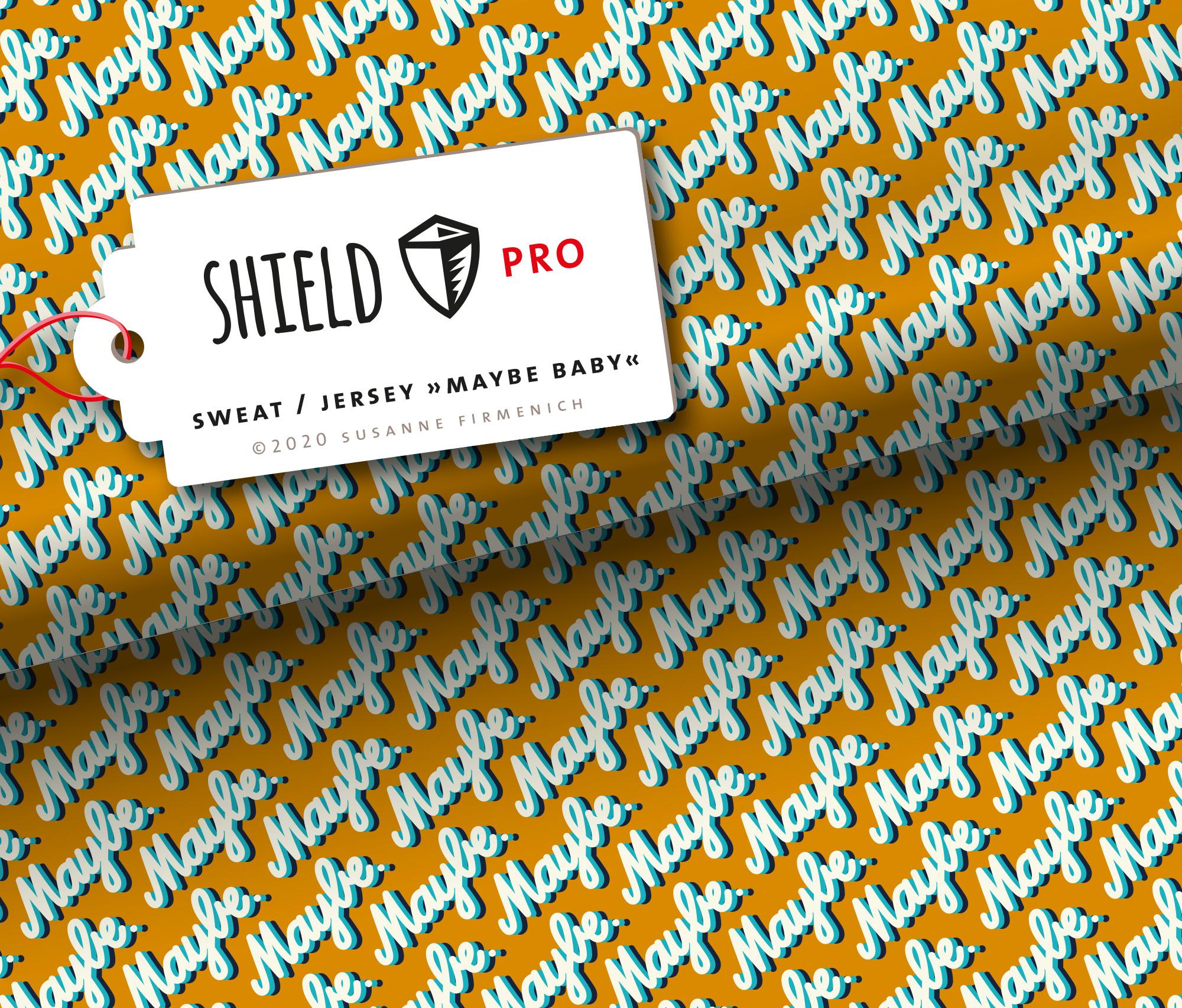 Sweat Shield Pro - Maybe Baby senf antibakteriell von Hamburger Liebe & Albstoffe.