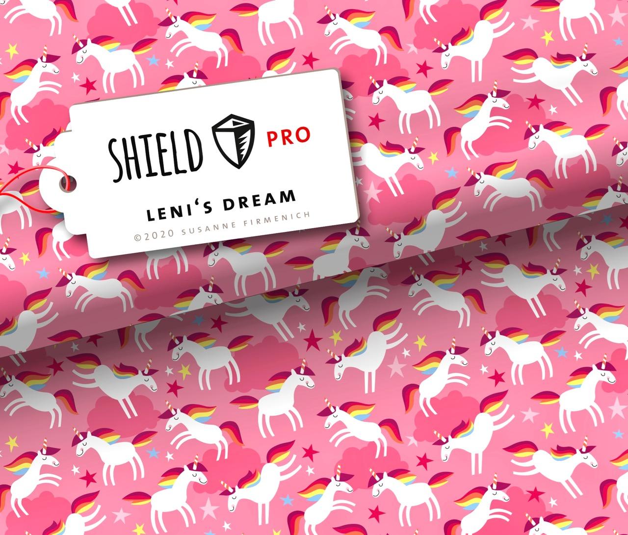 Shield PRO KIDS - Leni`s Dream von Hamburger Liebe - antimikrobiell für Atem-und Mundmasken!