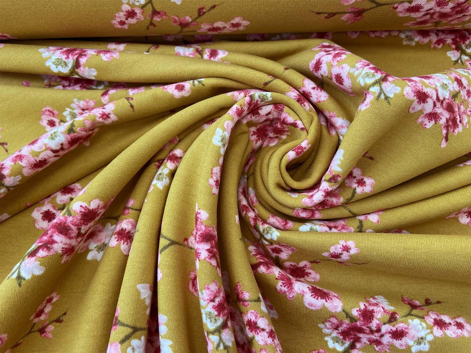 Bio-Sweat - Cherry Blossom gelb designed by Poppy