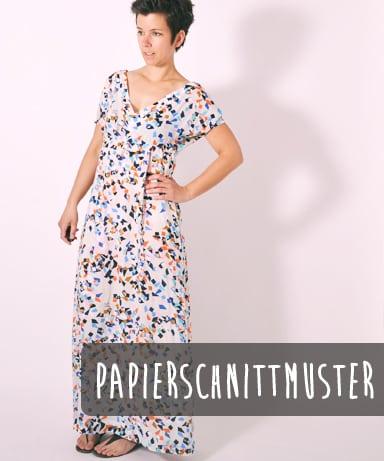 LENI PEPUNKT Breezy Maxi Kleid Papierschnittmuster