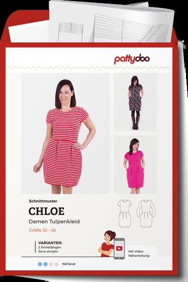 PATTYDOO Chloe Tulpenkleid Damen Papierschnittmuster