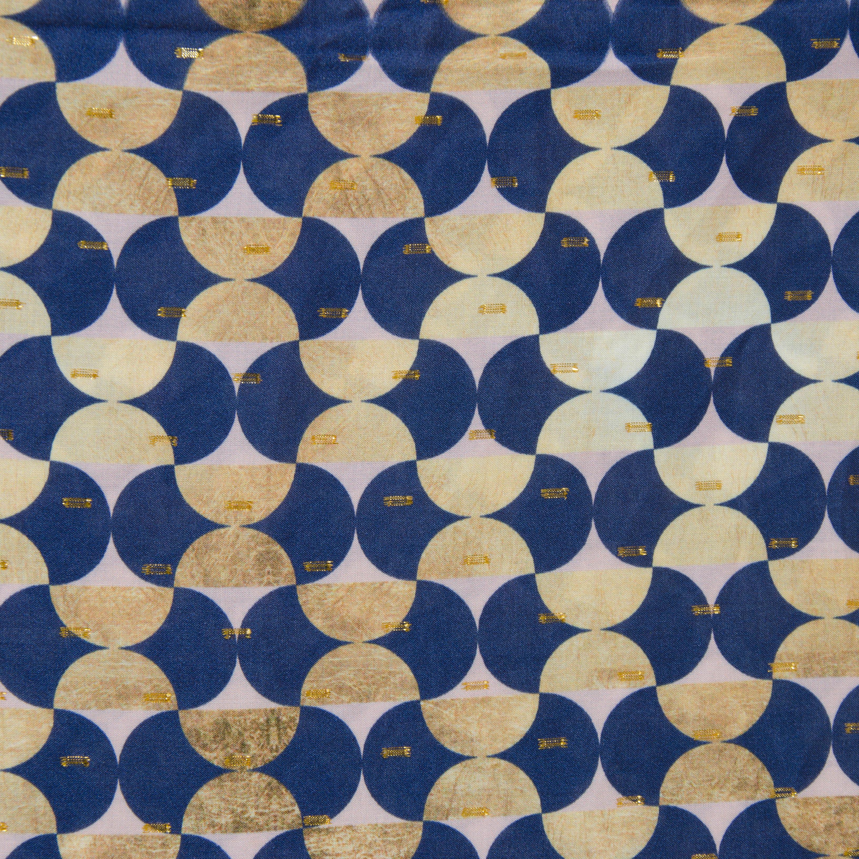 Viskose Webware - Villa Lurex Ornamente von Hilco