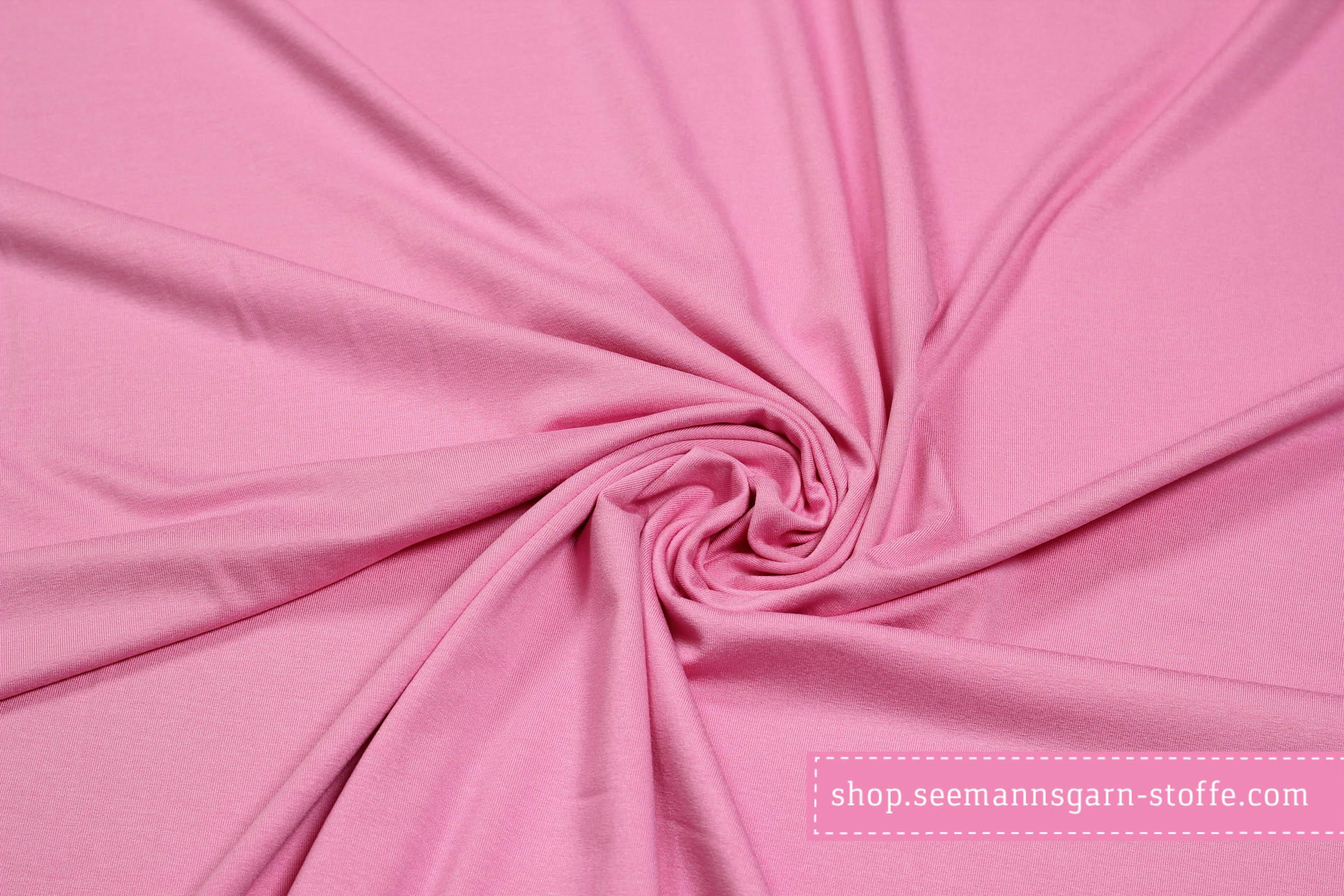 Viskose Stretch Jersey - Rosa