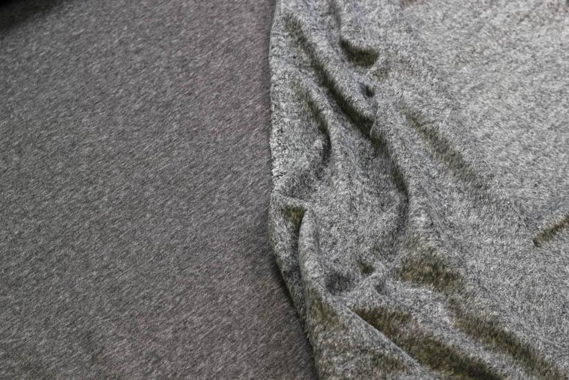 Alpenfleece meliert in grau von Swafing kaufen!