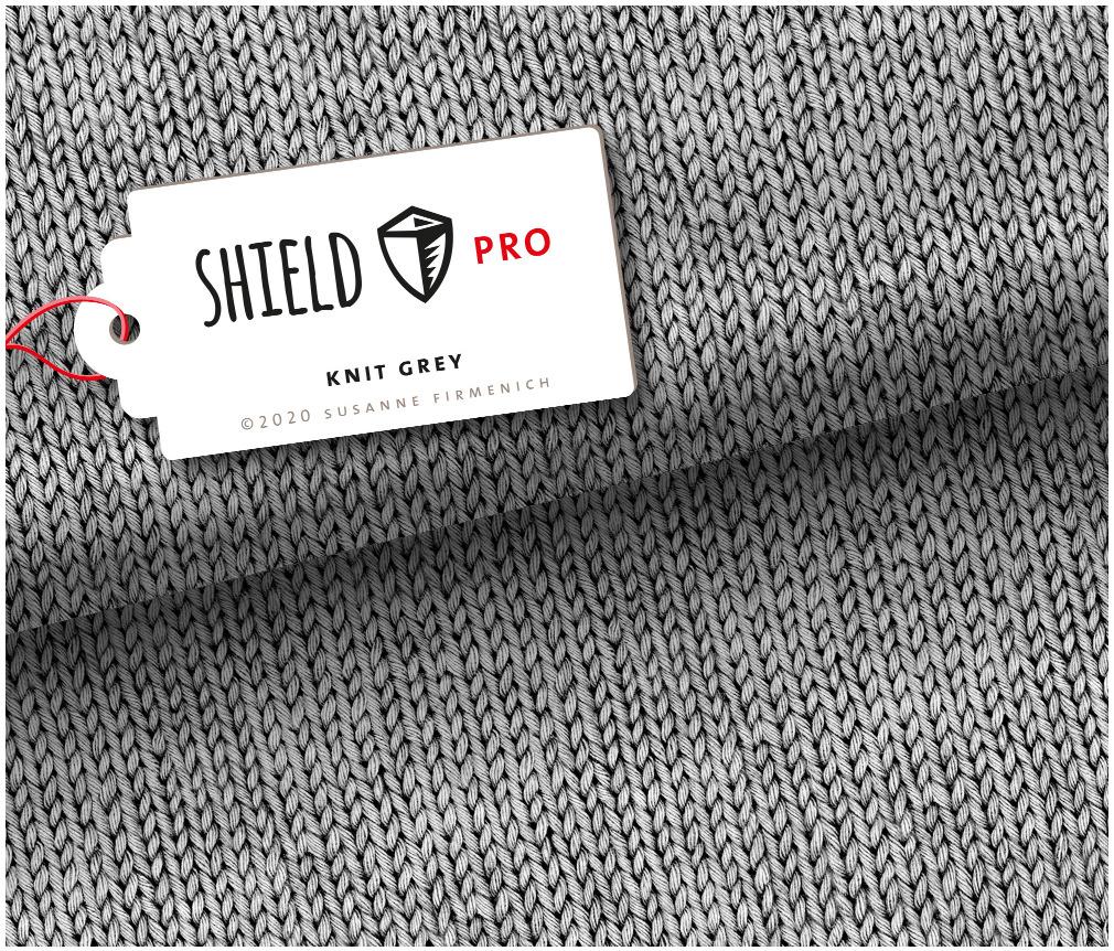 Jersey Shield Pro - Knit Grey | Hamburger Liebe & Albstoffe