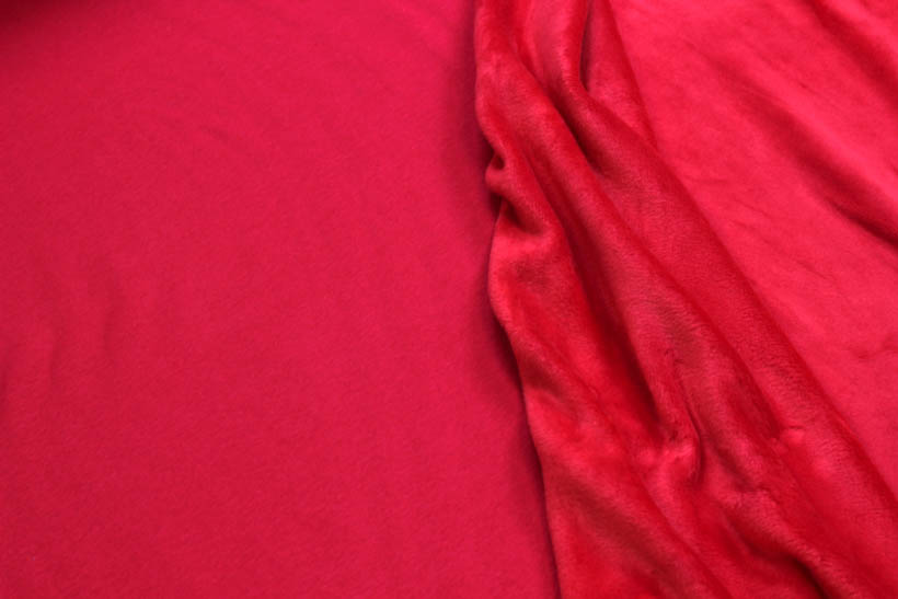 Alpenfleece - Julian in rot von Swafing