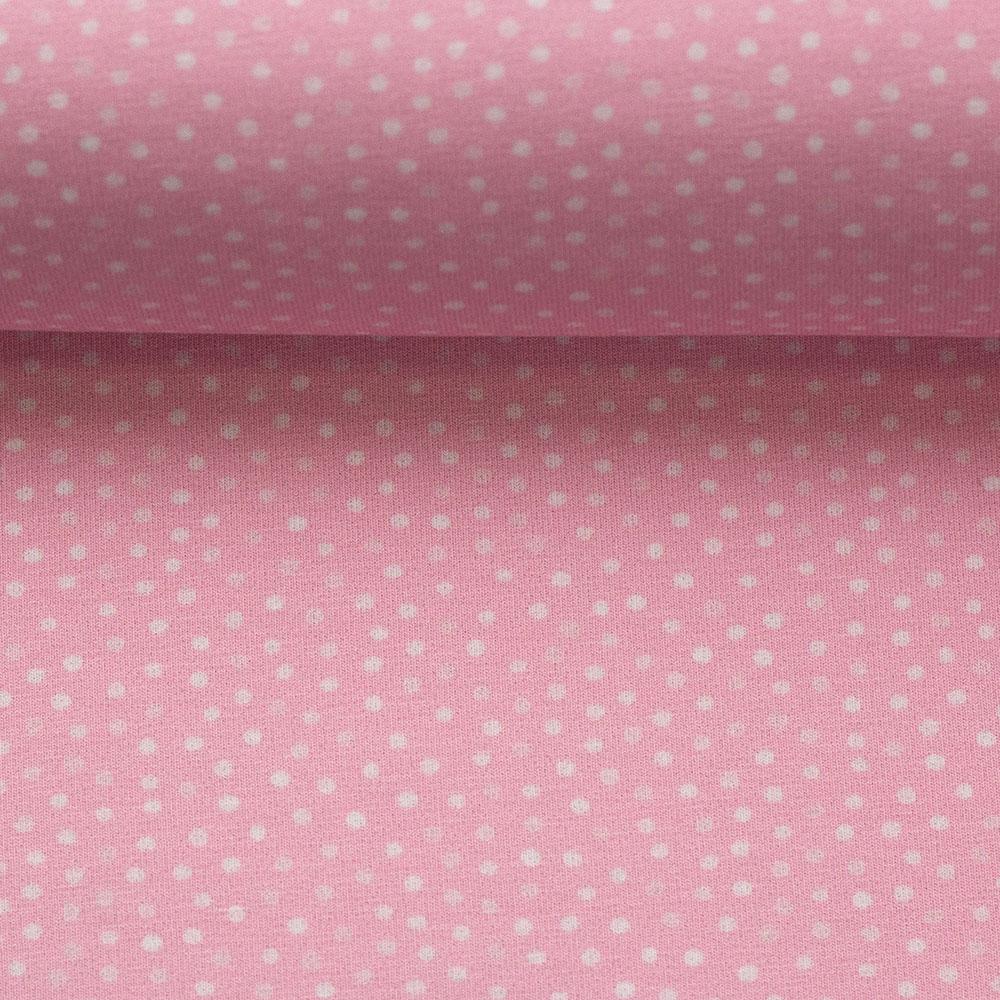 Jersey Little Spring mit Punkten von Swafing in rosa