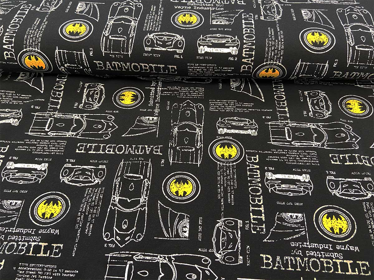 Jersey - Batmobile in schwarz