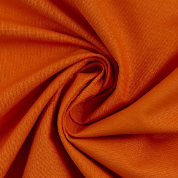 Webware Baumwolle - Heide in orange - Swafing
