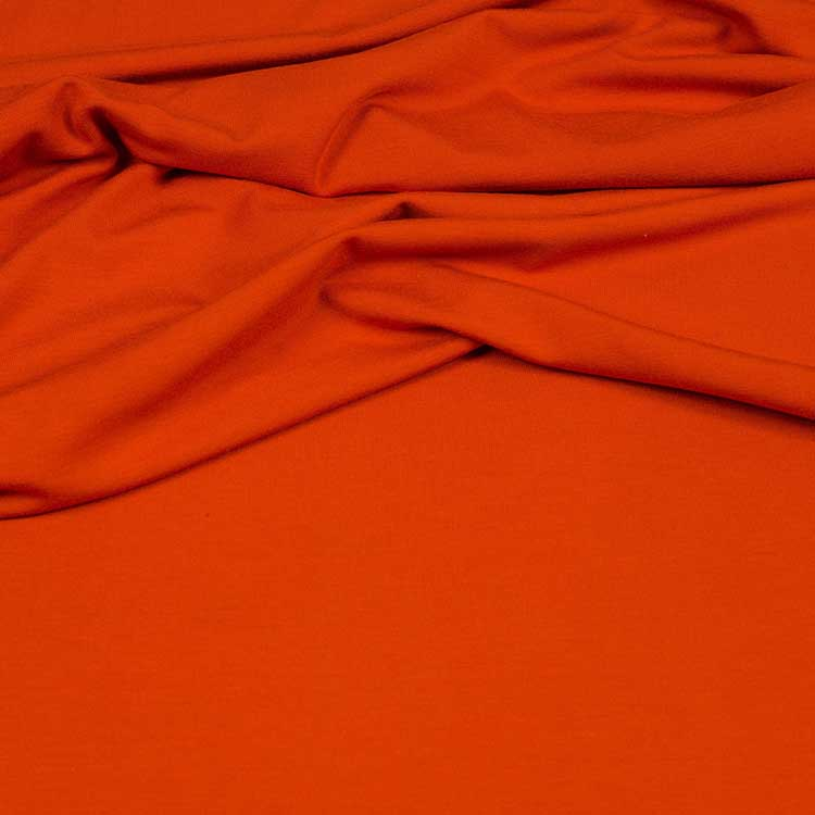Viskose Jersey - Vi-El-Jersey in orange von Hilco