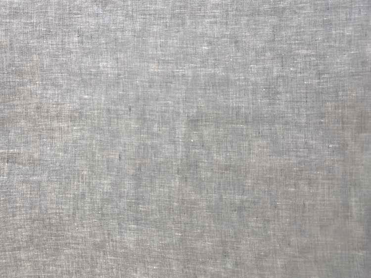 Feinleinen Stoff Formentera aus 100% reinen Leinen von Hilco in grau