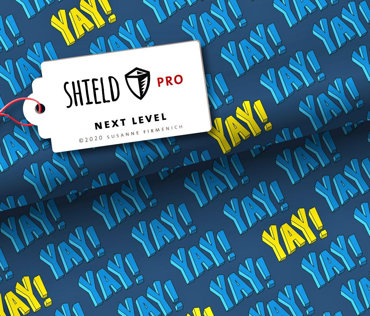 Shield PRO KIDS - Next Level von Hamburger Liebe - antimikrobiell für Atem-und Mundmasken!