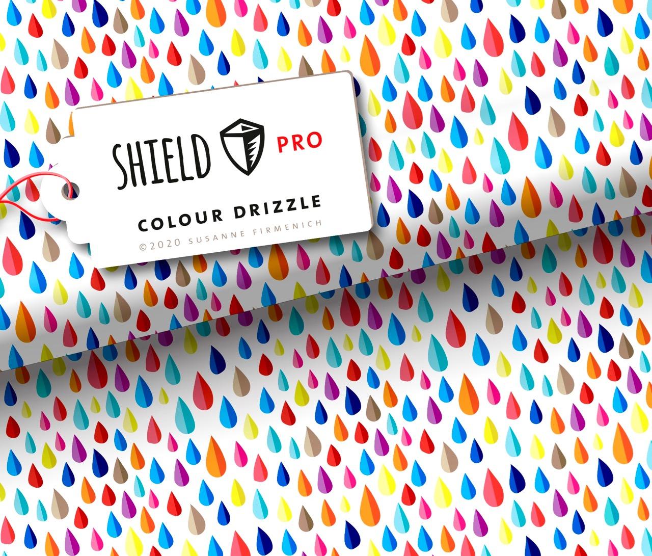 Shield PRO KIDS - Colour Drizzle von Hamburger Liebe & Albstoffe - antimikrobiell