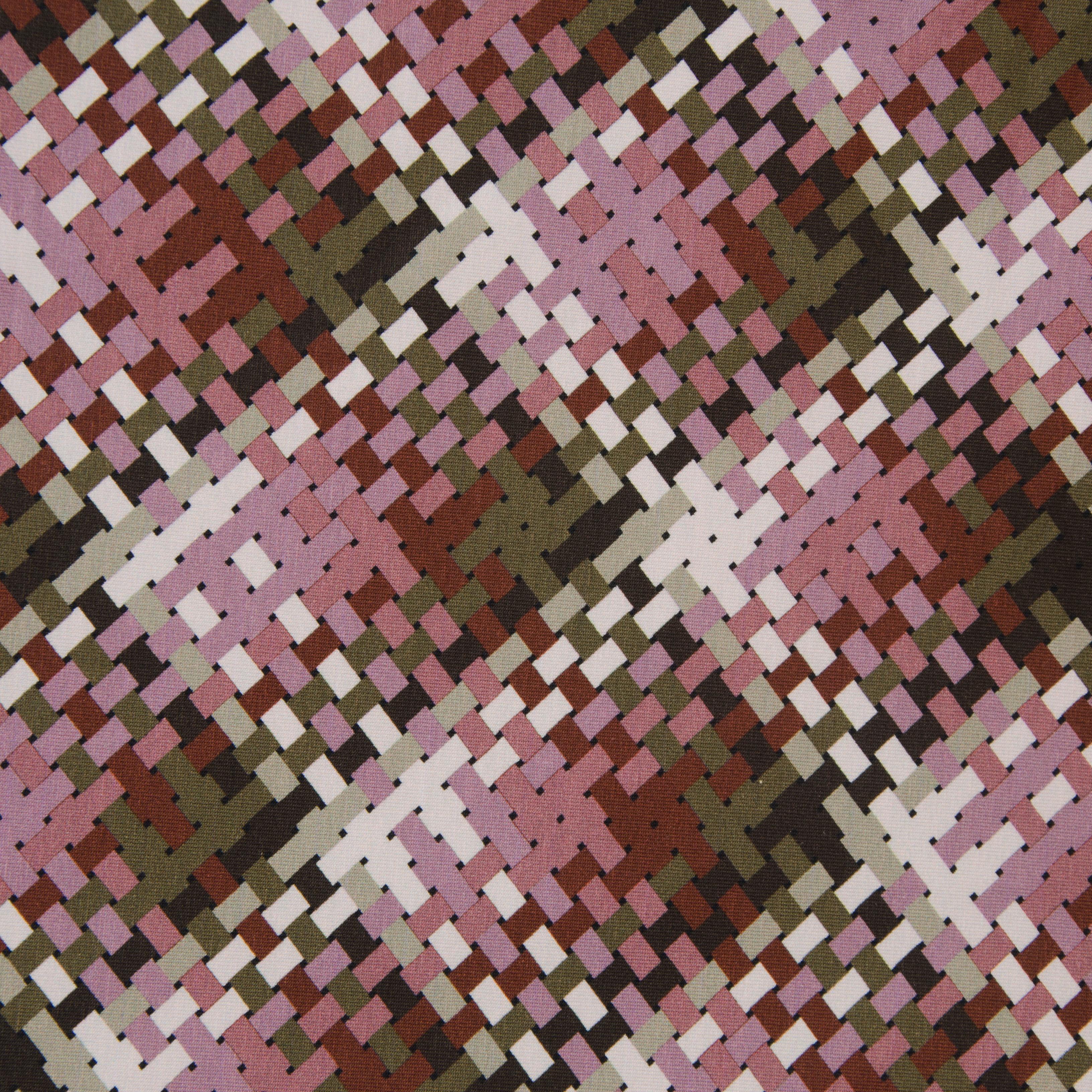 Sweat - Cross Stitch rosa/grau von Hilco