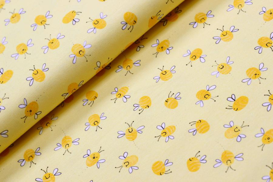Jersey Bugs Bees in gelb von Hilco