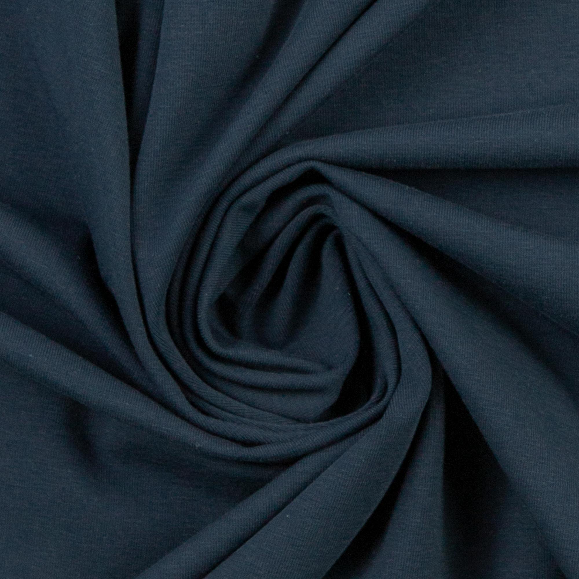 Weicher Jersey in dunkelblau von Swafing!