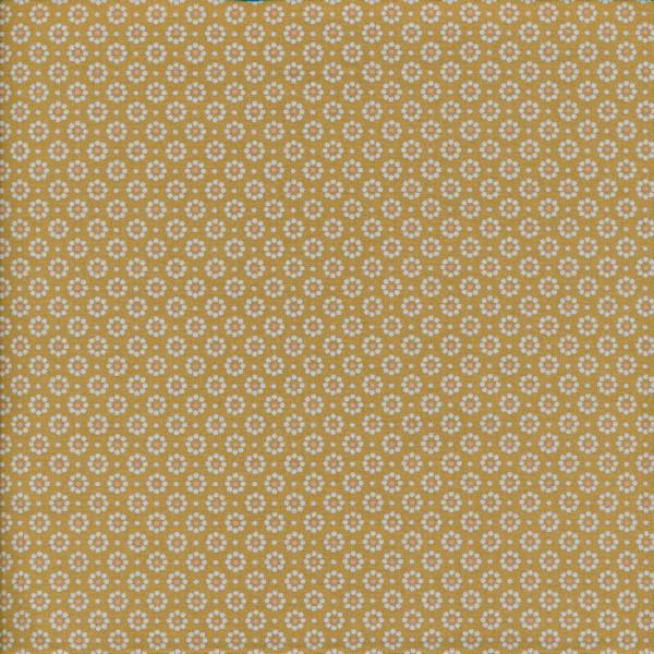 Wachstuch - Belle Fleur Mustard | Au Maison
