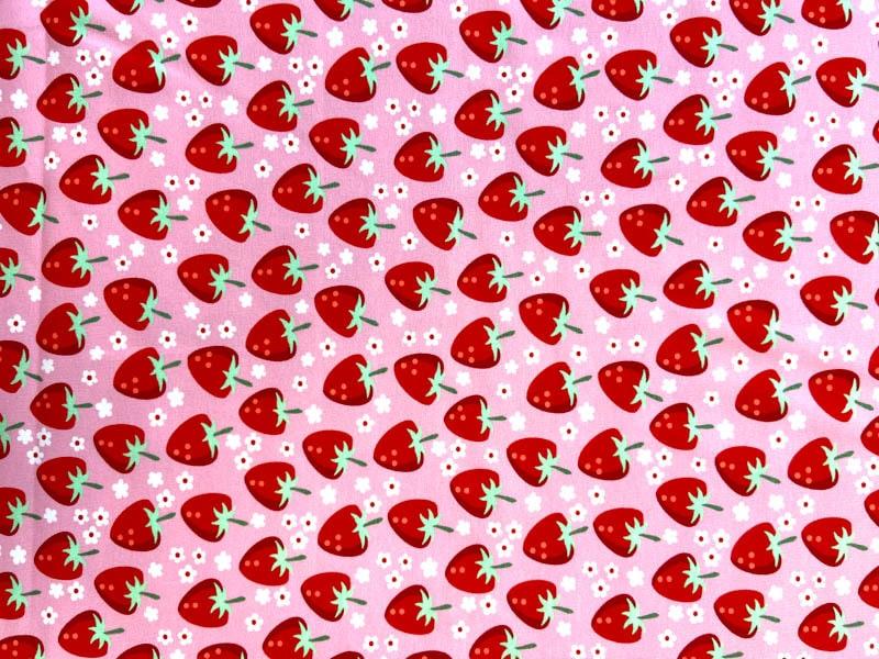Jersey - Fresh Fruits mit Erdbeeren von Hilco bei SEEMANNSgarn