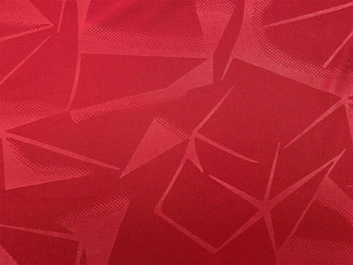 Funktionsjersey - rot mit Mustern