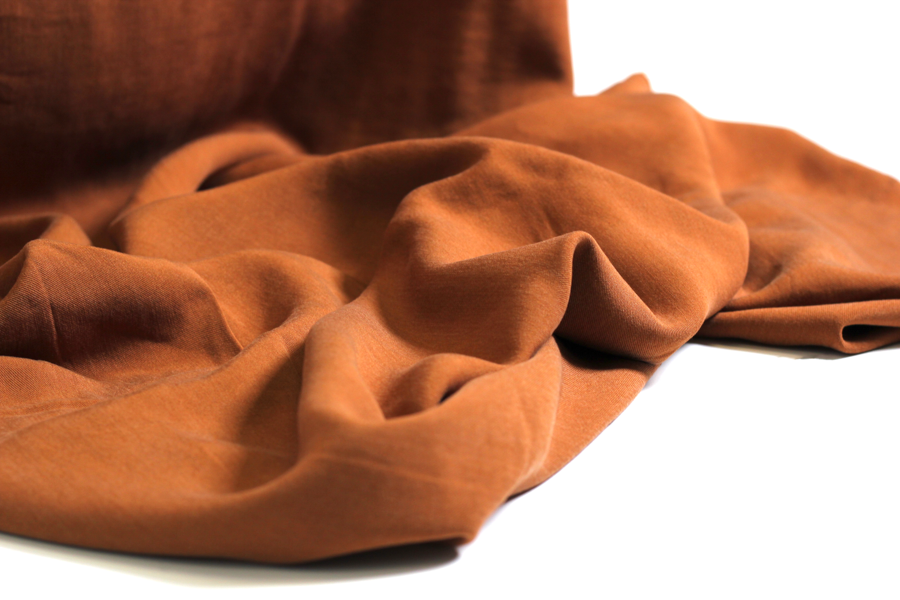 Tencel Webware - Klimant uni in terracotta | HILCO