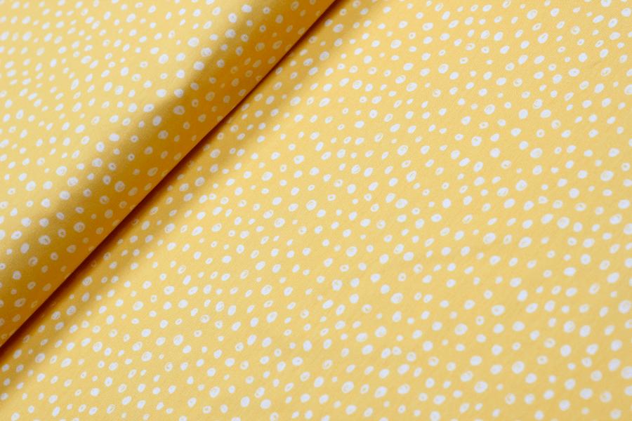Jersey Safari Dot gelb von Hilco