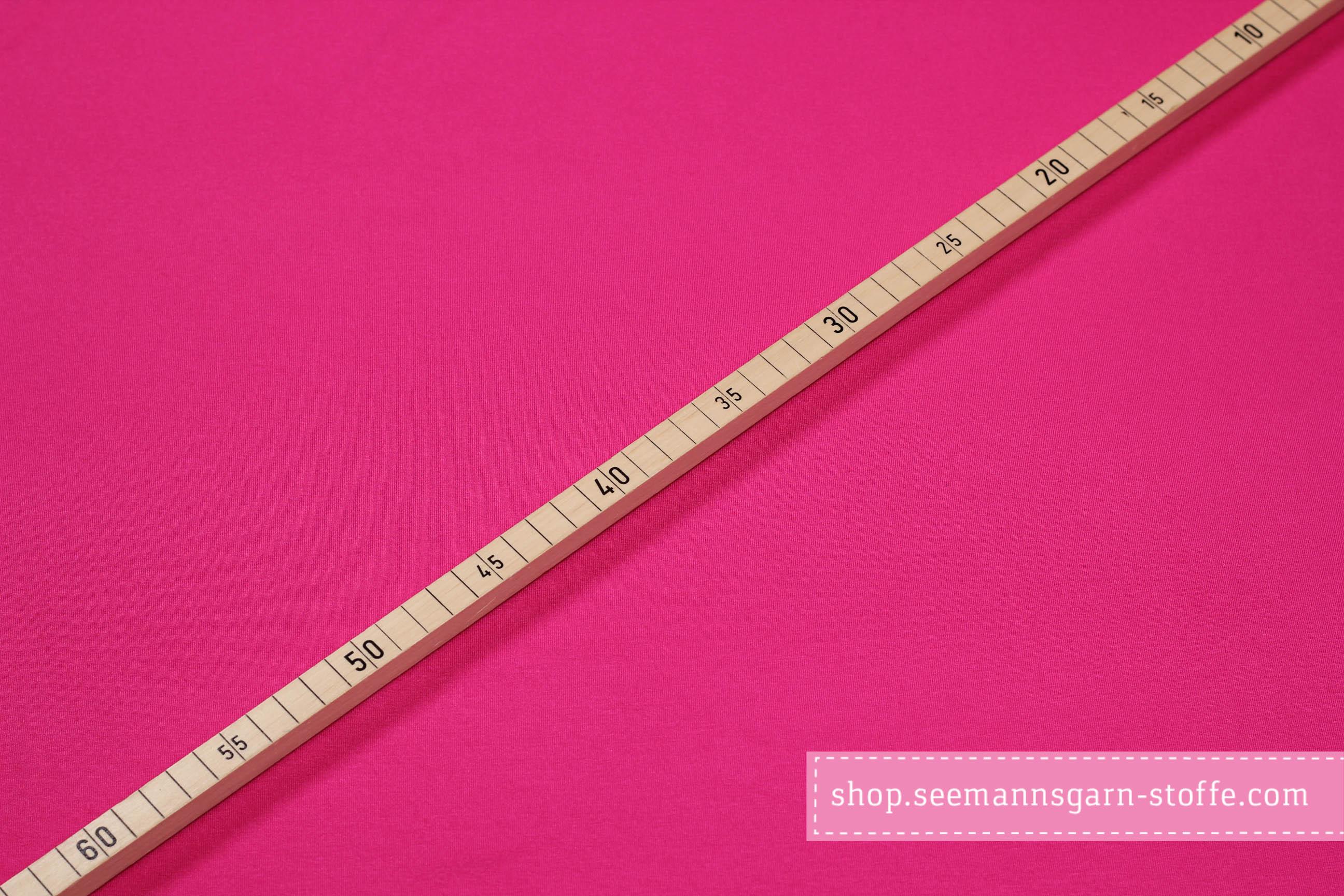 Viskose Stretch Jersey - Pink