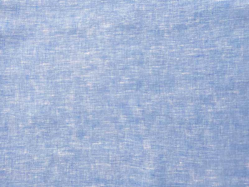 Feinleinen Stoff Formentera aus 100% reinen Leinen von Hilco in blau