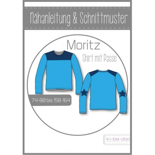 KI-BA-DOO Moritz Shirt mit Passe Papierschnittmuster