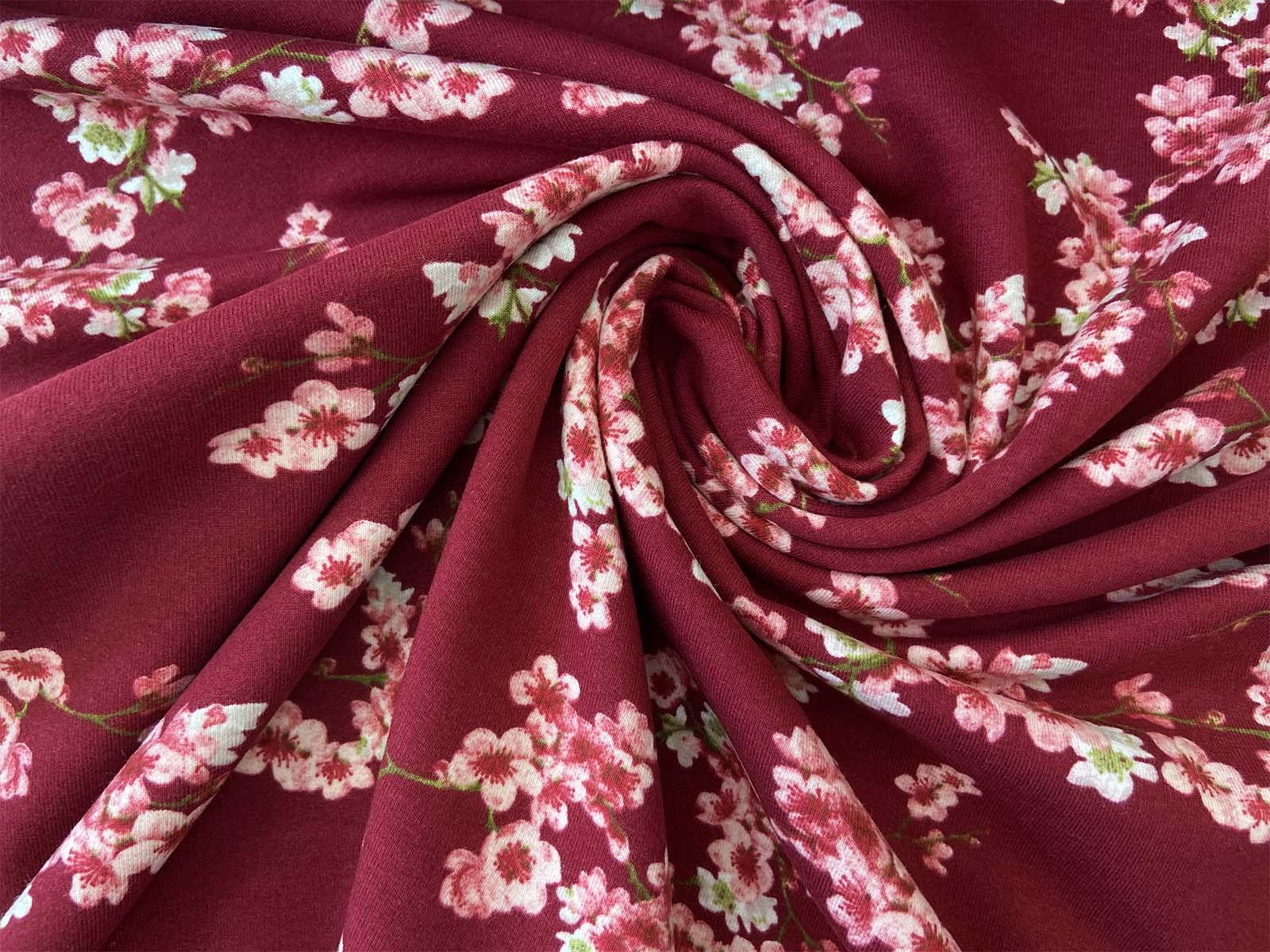 Bio-Sweat - Cherry Blossom weinrot designed by Poppy