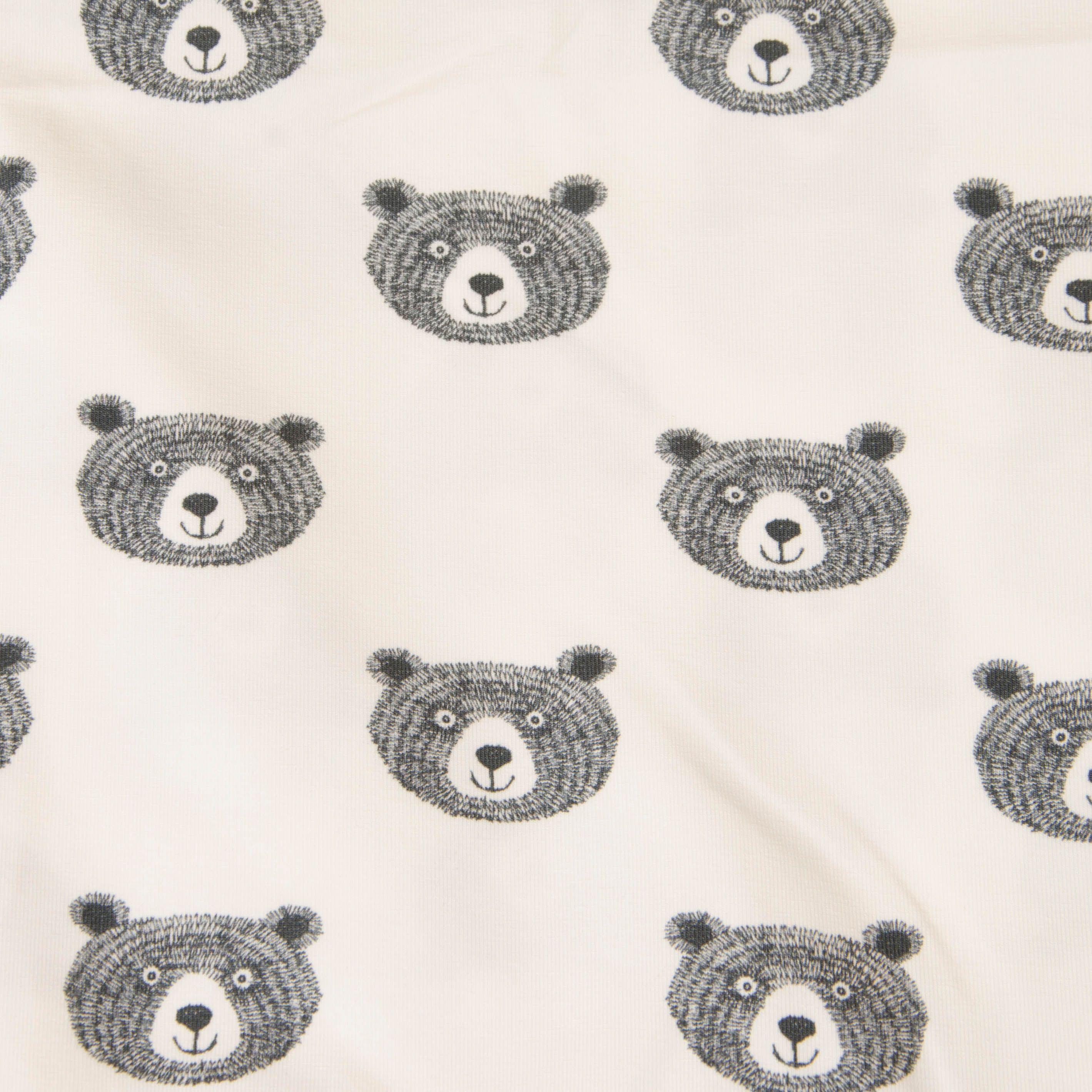 Jersey - Good Night Bear rosa mit Bärenkopf von Hilco