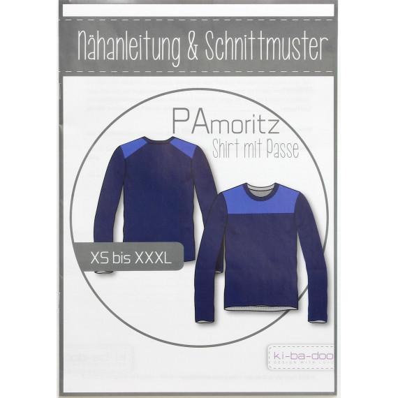 KI-BA-DOO PaMoritz Shirt mit Passe Papierschnittmuster