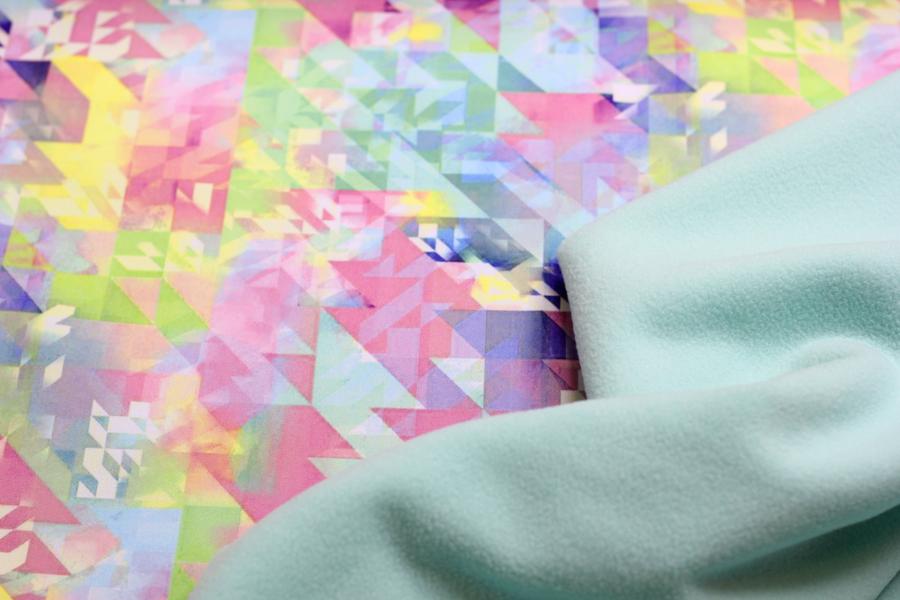 Softshell - bunte Muster