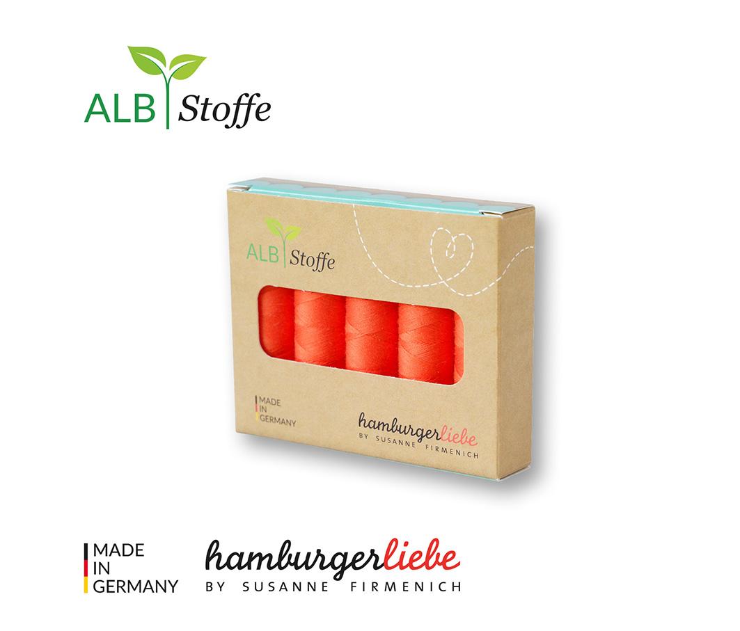Nähgarn-Set Stitch Me luce rossa 5er Set von Hamburger Liebe & Albstoffe